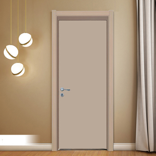 YK-624 Waterproof WPC door for interior room, wpc door / pvc door / abs door / polymer door